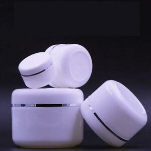 4-5Pcs-Plastic-Empty-Cosmetic-Container-Jar-Pot-Makeup-Face-Cream-Travel-Bottle