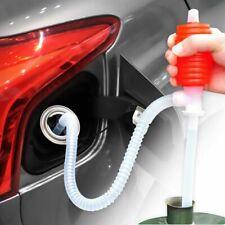 Manual Siphon Suction Water Chemical Liquidpump Portable Car Truck Fuel Gasoline