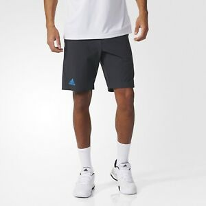 ecb222f45511d0 Das Bild wird geladen adidas-Herren-Tennis-Barricade-Bermuda-Hose-Sporthose- Fitness-
