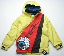 9709427d0 686 Snaggletooth Eyepocket Boys Snowboard Jacket Blue Large Sample ...