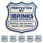 1 Home Security Yard Sign and 5 Stickers Decals