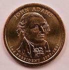 $1 2007-P John Adams Dollar Doubled Edge Lettering BU