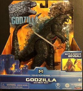 Godzilla vs Kong GODZILLA with HEAT RAY PLAYMATES Monsterverse Action Figure Toy