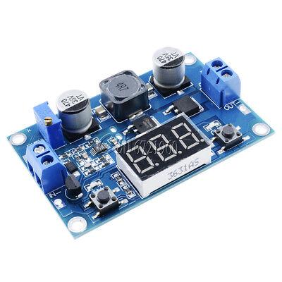 DC 3-35V To 3.5-35V 100W LED Voltmeter Step-up Boost Module LTC1871+Heat Sink