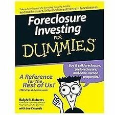 Foreclosure Investing for Dummies by Ralph R. Roberts and Joe Kraynak (2007, Paperback)