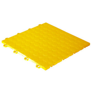 HANDYMAN Garage Floor Tiles Coin Yellow - Made In USA