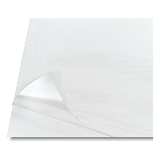 Clear Acetate 10mil .010 8.5 x 11 25 COUNT