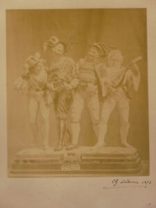 Photography-Old-Signed-Bottom-Right-Dated-1874-Glass-Retro-Vintage