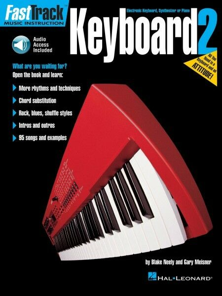Fasttrack Keyboard Method 2 Piano Beginner Music Lessons Hal Leonard