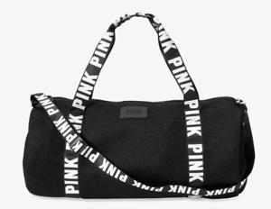 73899decb0d3 Travel Bag Gym Secret Duffle Large Mesh Waffle Victoria s Sport Black  daUq4Z88w