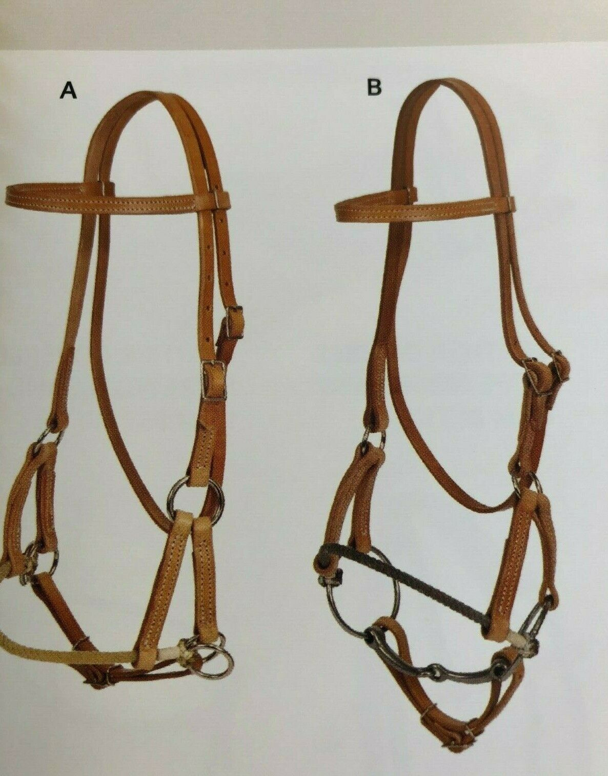 Oxbow Single rope Nose side Pull With or Without Bit