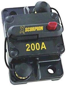 scosche car audio circuit breaker 12 volt 200 amp cb200 manual reset rh ebay com