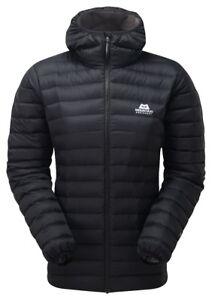 sale retailer eda4b 86802 Details zu Mountain Equipment Arete Hooded Jacket Women, leichte  Damen-Daunenjacke, schwarz