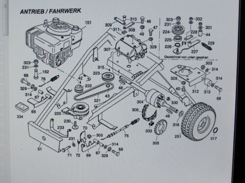 Ersatzteile für WOLF Scooter OHV 3-6990 000 Serie A 1997