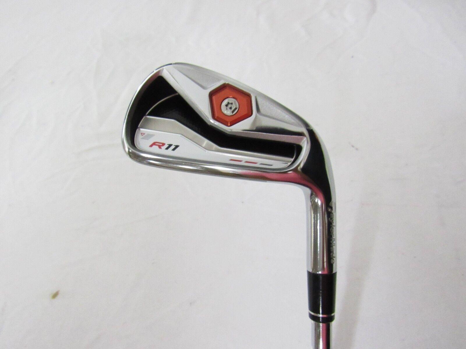 Utiliza la mano derecha Taylormade R11 solo 6 hierro KBS 90 Acero Regular Flex R-flex