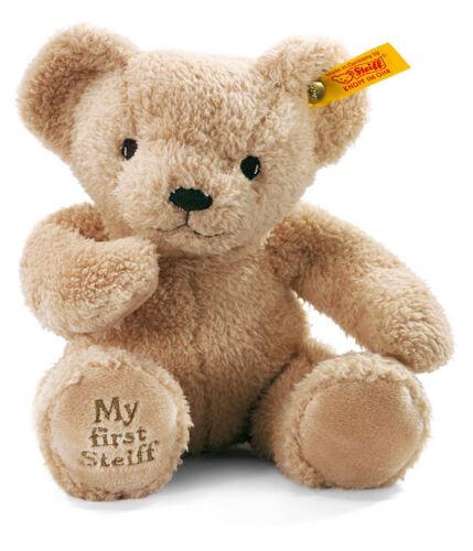 Steiff /'My First Steiff/' washable beige baby teddy bear in gift box EAN 664120