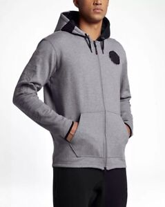 Air 830662 Capuche Sweat Carbone 091 Heather Intégral Zip Nike Small Homme uXZwkTOPi