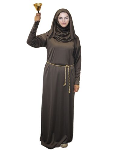 Adults Sparrow Costume Septa of the Faith of Seven Fancy Dress Nun Robes
