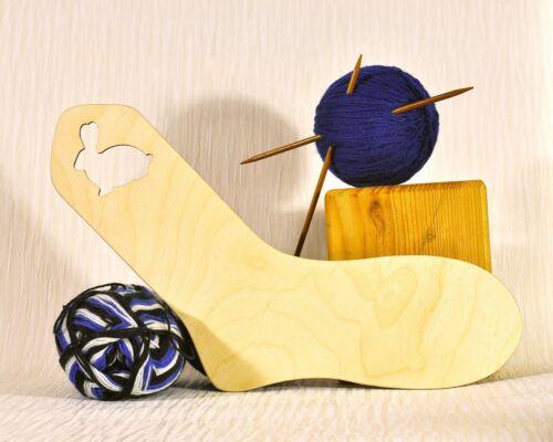 Bloqueador de calcetín de madera adulto tamaño de Reino Unido 5-7 .