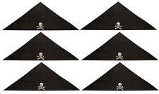 6 Pirate Bandanas - Childrens Costume Loot/Party Bag Fillers Pinata