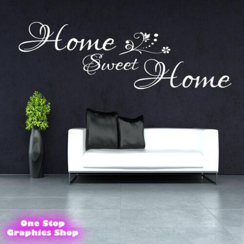 Home sweet home wall sticker Mur Salon Chambre-Art Citation x41