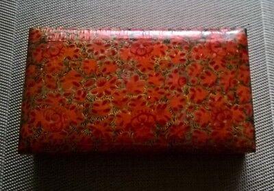 Sinnvoll Deckeldose Papiermache Indien Handarbeit Gebr.