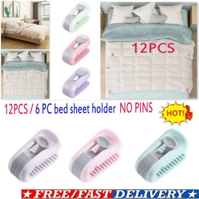 Prevents Stolen Bed Covers Secures Blankets//Sheets//Duvets Cover Clamp