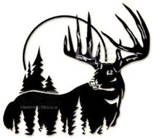 Vinyl Decal Mossy Oak Antlers Deer Turkey Bass Fish Car Truck Window Sticker