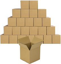 Ruspepa Shipping Boxes Corrugated Boxes 4 X 4 X 4 Recyclable Boxes For Small