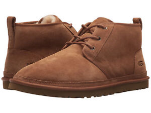 Men-UGG-Neumel-Lace-Up-Suede-Boot-3236-Chestnut-Twinface-100-Authentic-Brand-New