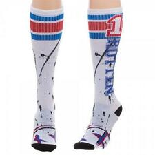 Suicide Squad - Harley Quinn Rotten Adult Size Knee High Socks - New & Official