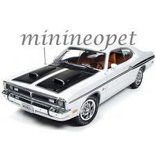 AUTOWORLD AMM1096 1970 70 DODGE DEMON 340 1/18 DIECAST MODEL CAR WHITE