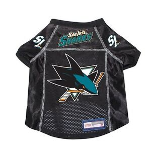 b829a4ae9 Image is loading San-Jose-Sharks-NHL-Pet-dog-jersey-shirt-