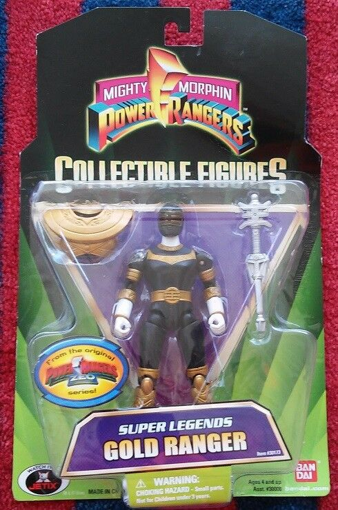Mighty Morphin Power Rangers Super Legends Zeo GOLD Ranger Action Figure NeW NIB