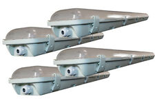 4 Ft 48w Water Vapor Shop Light Fixture with 2x LED T8 Included 6500K
