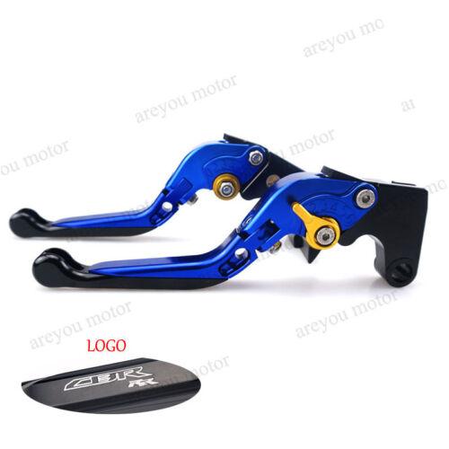 Motorcycle CNC Modifiable Clutch Brake Levers Set For CBR RR CBR929RR 2000-2001