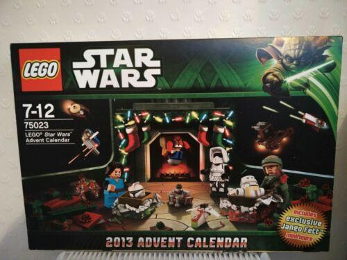 LEGO Star Wars Advent Calendar 2013 75023 New with Exclusive Santa Jango Fett