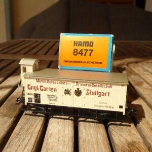Ep.I Märklin Hamo 8477 Spur H0 K.W.St.E. gedeckter Güterwagen