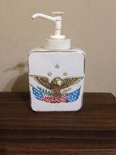 VINTAGE L.W. Rice & Co. Inc. AMERICAN EAGLE Lotion Dispenser MADE IN JAPAN