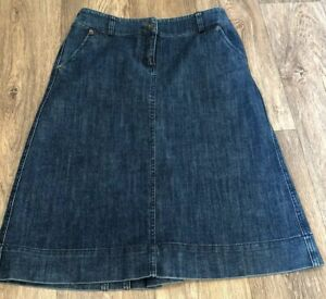 Monsoon-A-Line-Blue-Wash-A-Line-Denim-Skirt-Uk-8