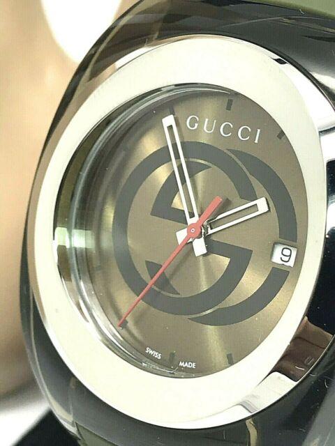 31e8d723957 Gucci Sync XXL Military Khaki YA137106 Watch for Men for sale online ...
