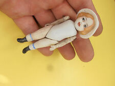 Antique Dolls German bisque doll with cap  germany Limbach 1900