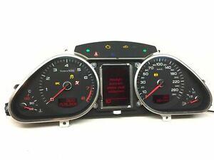 Audi-A6-S6-2-8-FSI-Compteur-de-Vitesse-Instrument-Cluster-Km-H-4F0920901H