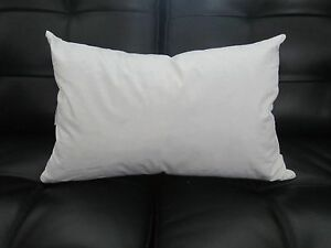 Image Is Loading Rectangle Pillow Insert Form Feather Down Oblong 12