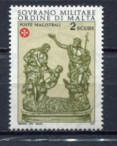 s23813) DEALER STOCK SMOM 1976 MNH** S. Giovanni Battista 1v (X10 SETS)