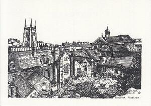 Postcard-Tamworth-Rooftops-Drawing-1997
