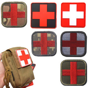 EMBROIDERED Iron on patch RED CROSS PARAMEDICS