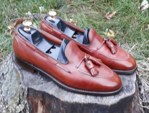 Alden 3696F - Tassel loafer blburnished tan calfsk