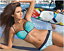 NEW S M L Bikini JASMIN Push-up Mint Turquise Genuine Mesh High Quality GABBIANO