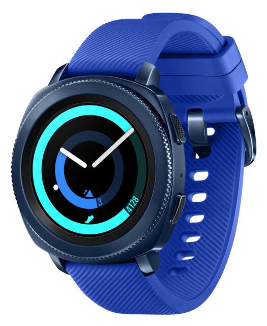 Samsung Gear Sport SM-R600 Bluetooth Smartwatch Blue SM-R600NZBAXAR
